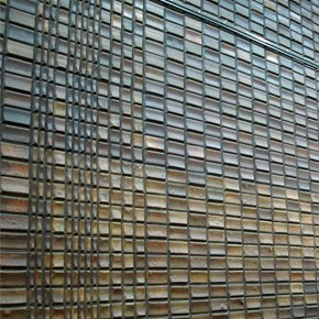 Ceramic wall tiles by Fritz Stellar in the Beecroft Gallery