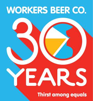 Branding – Workers Beer 30 Years logo