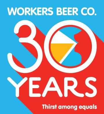 Branding – Workers Beer 30 Years logo