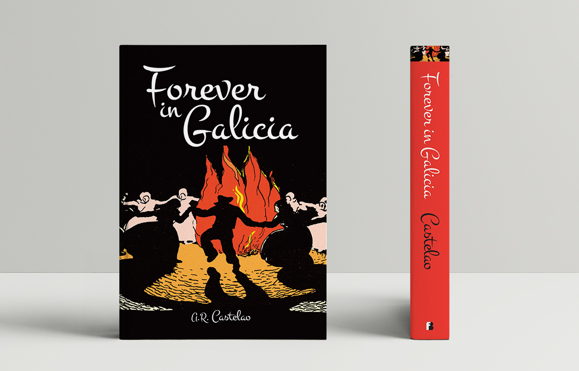 Book cover: Forever in Galicia by Castelao