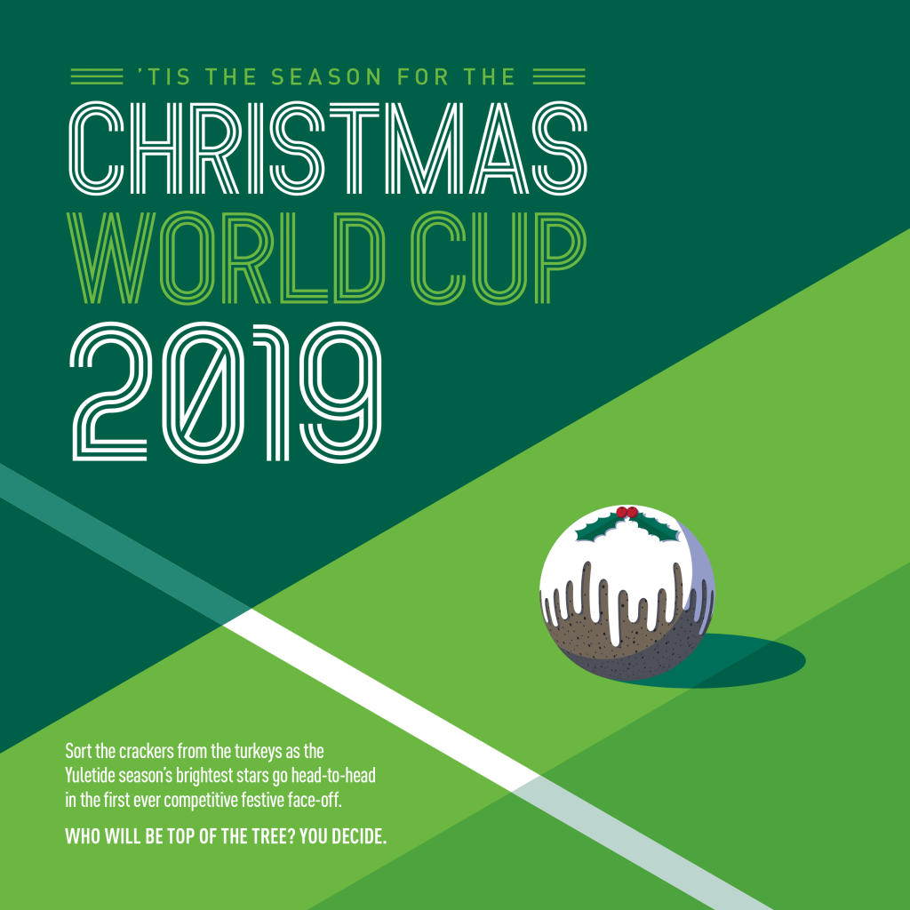 World Cup Christmas Card Design 2019